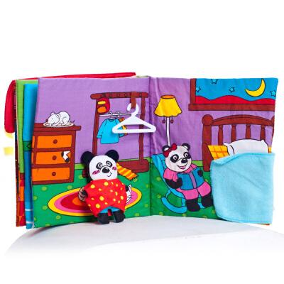 [当当自营]Lalababy 拉拉布书 日常生活系列 我爱我家【当当自营】向宝宝灌输各种生活细节,让宝宝寓学习于游戏中