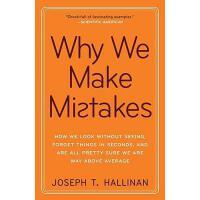 【预订】Why We Make Mistakes: How We Look Without Seeing