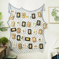 墙上挂饰家居墙饰装修饰品工业风渔网墙面装饰挂件