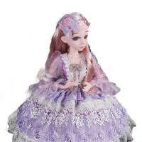 60厘米娃娃音乐会说话的洋娃娃60CM娃娃女孩公主玩具 【柏妮丝公主】珍藏版 送精美饰品
