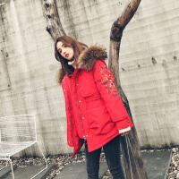棉衣女短款民族风女冬季复古中国风加厚羽绒棉袄外套