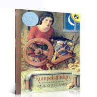 【全店300减100】英文原版Rumpelstiltskin 侏儒怪 1987年凯迪克银奖儿童绘本读物