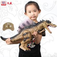 恐龙玩具喷雾霸王龙电动遥控仿真动物模型儿童玩具