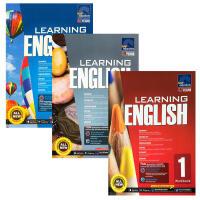 【全店300减100】英文原版 SAP Learning English Workbook 1-3新亚英语练习册3本课外