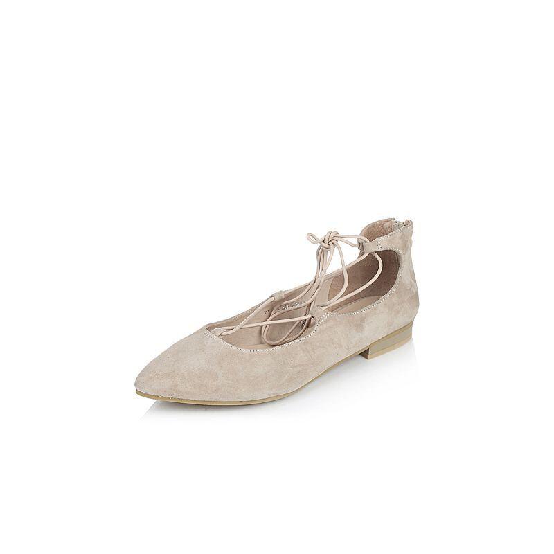 BASTO/百思图2017春季羊皮女单鞋TYL28AQ7