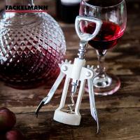 Fackelmann/法克曼 拔塞钻 红酒开瓶器多功能红酒开瓶器 拔塞钻 酒起子 啤酒开瓶器5307381