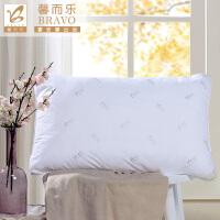 【春节不打烊 年货直降】富安娜出品 馨而乐助眠安睡枕芯 全涤磨毛防螨枕芯