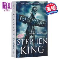 【中商原版】斯蒂芬・金:宠物公墓(电影封面版)英文原版 Pet Sematary 惊悚恐怖悬疑小说 Stephen King