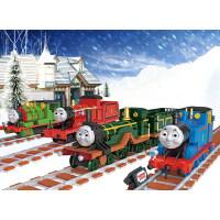 俐智loz拼装迷你塑料积木拆装玩具男生玩具礼物模型小火车托马斯1804