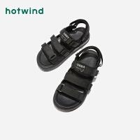 热风女士休闲凉鞋百搭厚底凉鞋H65W9201