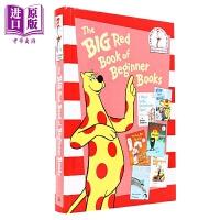 【中商原版】苏斯博士阅读入门系列 红色故事本 Beginner Books 精装 英语原版 6-9岁