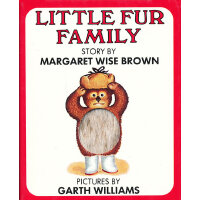 Little Fur Family Fur Edition 毛绒绒的一家 ISBN9780694000043