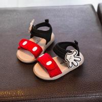 女宝宝凉鞋女童鞋婴儿童学步鞋子小童公主鞋夏季