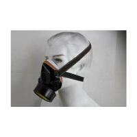 单气阀 防毒面具 强透气 喷漆 防尘 防毒面罩 防毒口罩 防护面罩(两只家庭优惠装)