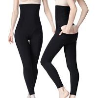 长裤后脱收腹裤高腰塑身裤塑腿提臀束腰内裤减肚子美腿裤