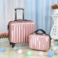 18寸子母箱登机箱女行李箱万向轮拉杆箱男旅行箱学生锁皮箱小定制