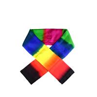 舞台魔术道具 围巾变色 黑丝巾变彩虹丝巾 儿童节表演玩