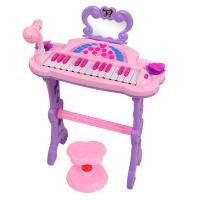 电子琴音乐钢琴宝宝玩具麦克风1-3岁女孩初学儿童节礼物