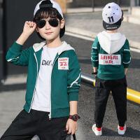 男童春装外套2019新款中大童儿童男孩春秋款夹克洋气上衣韩版潮薄