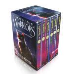 进口英文原版绘本 Warriors: Dawn of the Clans 猫武士五部曲1-6册盒装 全套儿童章节小说动