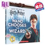 【中商原版】魔杖选择巫师(附魔杖)英文原版 The Wand Chooses the Wizard [With Wan