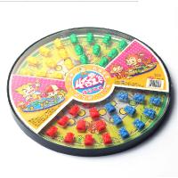 四合一猴主题组合跳棋 飞行棋拔河棋群猴争霸益智玩具