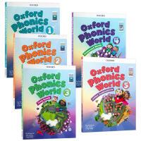 牛津少儿英语自然拼读世界1-5册 英文原版 Oxford Phonics World Refresh 1-5 Sb P