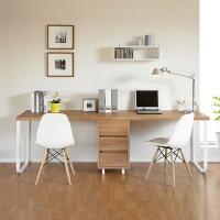 环保定做桌子 加长笔记本书桌 台式机电脑桌 电脑双人桌 双人办公桌子 写字台