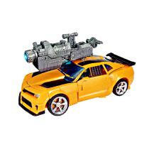 变形玩具金刚大黄蜂汽车机器人模型手动变形恐龙儿童礼物 黄蜂