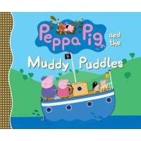 粉红猪小妹:泥泞的水坑【现货】英文原版童书Peppa Pig and the Muddy Puddles小猪佩奇 儿童
