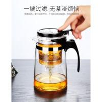 冲茶器玲珑杯家用套装茶壶玻璃花茶壶泡茶杯过滤茶具