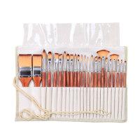 水粉颜料勾线笔水彩油画笔套装24支惊喜的文具节日礼品 24支套装