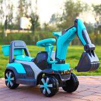 儿童挖掘机男孩可坐充电挖土机小孩挖机电动勾机宝宝玩具车工程车