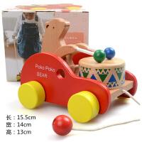 拖拉学步玩具车拉车婴儿童手拉拉绳拉线1-2-3岁一岁宝宝男孩小车