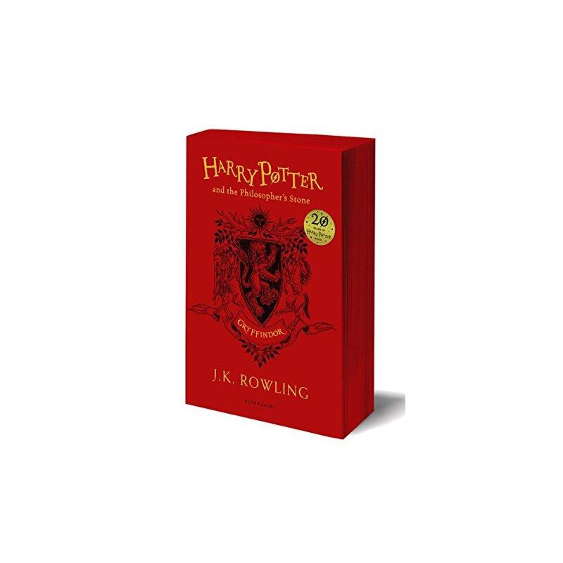 哈利波特 英文原版 Harry Potter and the Philosopher's Stone Gryffindor 哈利波特与魔法石 平装【英文原版 格兰芬多20周年纪念版 JK罗琳】 格兰芬多20周年纪念版 JK罗琳