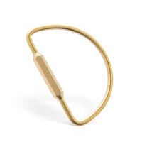纯铜简约钥匙扣 结实钥匙圈 穿N多钥匙男女士创意礼品