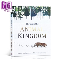 【中商原版】DK Through the Animal Kingdom 走进动物王国 STEAM百科 儿童动物知识科普