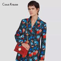 【1件3折,到手价:181.8元】Clous Krause ck包包女包2019新款时尚百搭斜挎包菱格链条包ins欧美