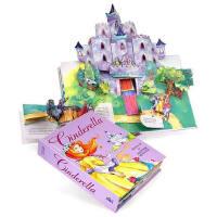 英文原版儿童书 Cinderella: A Pop-Up Fairy Tale 灰姑娘立体书 精装