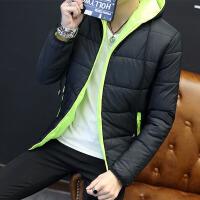 男士韩版修身短款棉袄棒球服男外套棉衣冬季潮流新款加绒厚