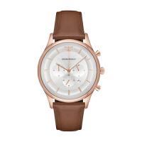 Armani 阿玛尼手表 钢带男表 休闲时尚石英男士情侣手表AR11044 AR11043