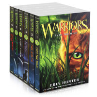 猫武士一部曲 Warriors Box Set Volumes 6册盒装 英文原版小说 预言开始 into the wild Fire and ice Forest of secre