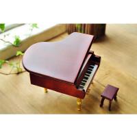 创意木质定制刻字钢琴音乐盒 八音盒六一儿童节生日礼物礼品