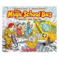英文原版儿童书The Magic School Bus Inside the Earth - Audio神奇校车:地球内
