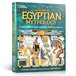 美国国家地理经典神话系列 埃及神话故事 Treasury of Egyptian Mythology 英文原版绘本 全