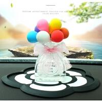 汽车摆件配件彩色告白气球可爱卡通创意汽车装饰