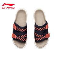 李宁拖鞋男鞋2021新款男士时尚经典鞋子运动鞋AGAR013