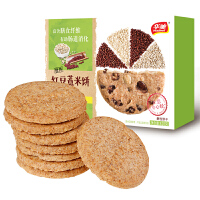 华美 红豆薏米粗粮饼干理想营养早餐全麦代餐饱腹零食420g