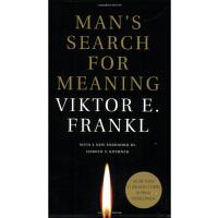 【现货】英文原版 活出生命的意义(追寻生命的意义)Man's Search for Meaning 简装版 传记回忆录