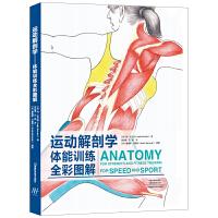 健身教练书籍 运动解剖学图谱体能训练全彩图解 人体解刨学肌肉解刨图解 体能训练学肌肉健美训练图解体适能健身书籍大全